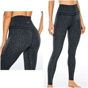 CRZ Yoga Camo/leopard Leggings Size L (12)